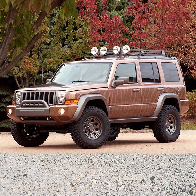 image gallery 2005 jeep commander. Black Bedroom Furniture Sets. Home Design Ideas