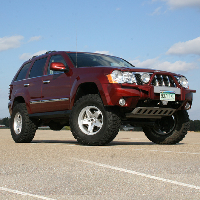 4 jeep grand cherokee and commander 2006 2007 suspension lift kit 2wd. Cars Review. Best American Auto & Cars Review